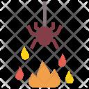 Spider Fire Evil Icon