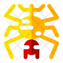 Spider Cobweb Animal Icon