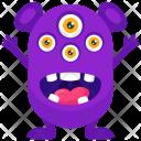 Spider Eye Monster Icon