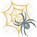 Spider Web Dreadful Horrible Icon