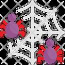 Spider Web Halloween Icon