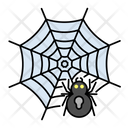 Halloween Spider Spiderweb Icon