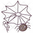 Spider Net Cobweb Insect Net Icon