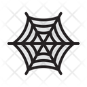 Halloween Spider Web Scary Icon