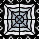 Spider Web Horror Spooky Icon