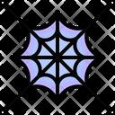Spider Web Spider Trap Icon