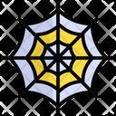 Spider Web Cobweb Halloween Icon