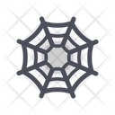 Spider Web Horror Trick Or Treat Icon