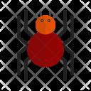 Spiderweb Halloween Spider Icon