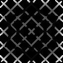 Spiderweb Shape Design Icon