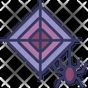 Web Halloween Spider Icon