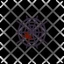 Spiderweb Spider Halloweenspider Icon