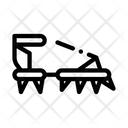 Spike Shoe Icon