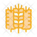 Spikelets Wheat Protein Icon