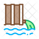 Spill Harmful Substances Icon