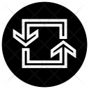 Spin Repeat Loop Icon