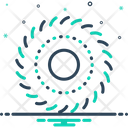 Spin Detour Spiral Icon