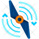 Spin Drone Icon