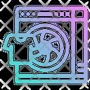Spin Wash Drop Icon
