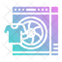 Spin Wash Drop Icon