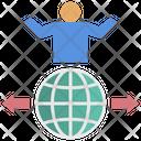 Influencer Control World Icon