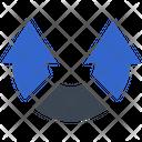 Tune Twist Arrows Icon