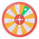 Gambling Casino Roulette Wheel Icon
