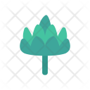 Spinach Leaf Nature Icon