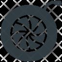 Spinning Wheel Spinner Icon