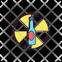 Spinning Bottle Tabletop Game Bottle Icon