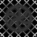 Spinning Pinwheel Icon