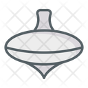 Spinning Top Spinning Toy Icon