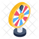 Spinning Wheel Gambling Casino Icon