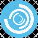 Spiral Galaxy Nebula Icon