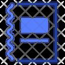 Spiral Notebook Organizer Icon
