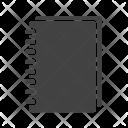 Spiral Notebook Icon