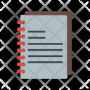 Spiral Book Notebook Icon