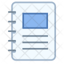 Spiral booklet Icon
