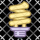 Spiral Bulb Led Icon