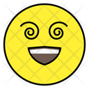 Spiral Eyes Emoji Spiral Eyes Emoticon Emotion Icon