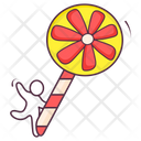 Spiral Lolly Icon