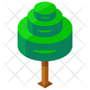Spiral Tree Greenery Icon