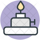Spirit Lamp Burner Icon