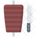 Spit Meat Shawarma Icon