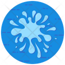 Splash Drops Swash Icon