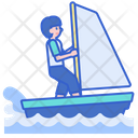 Splash Boat Water Boat Boatiing Icon