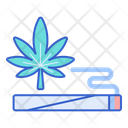 Spliff Cannabis Marijuana Icon