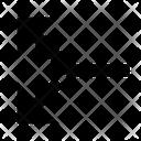 Split Divide Arrow Icon