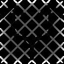 Split Arrow Up Icon