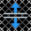 Split Vertical Arrow Icon